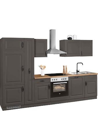 wiho Küchen Küchenzeile »Erla«, ohne E-Geräte, Breite 310 cm kaufen