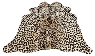 Fellteppich, »Leopard look«, my home, fellförmig, Höhe 8 mm, maschinell getuftet kaufen