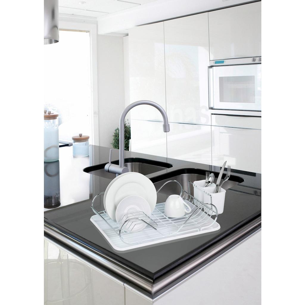 WENKO Geschirrständer »Clean«, (Set, 3 tlg.)