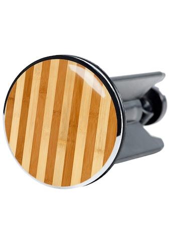 SANILO Stöpsel »Bambus gestreift«, für Waschbecken, Ø 4 cm kaufen