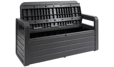 ONDIS24 Truhenbank »Spring«, Sitzbank mit Kissenbox aus Kunststoff kaufen