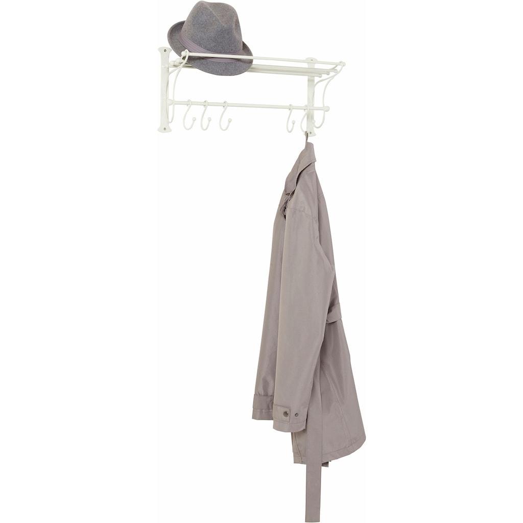 Ambiente Haus Garderobe, mit Regal mit Haken, Breite 53 cm