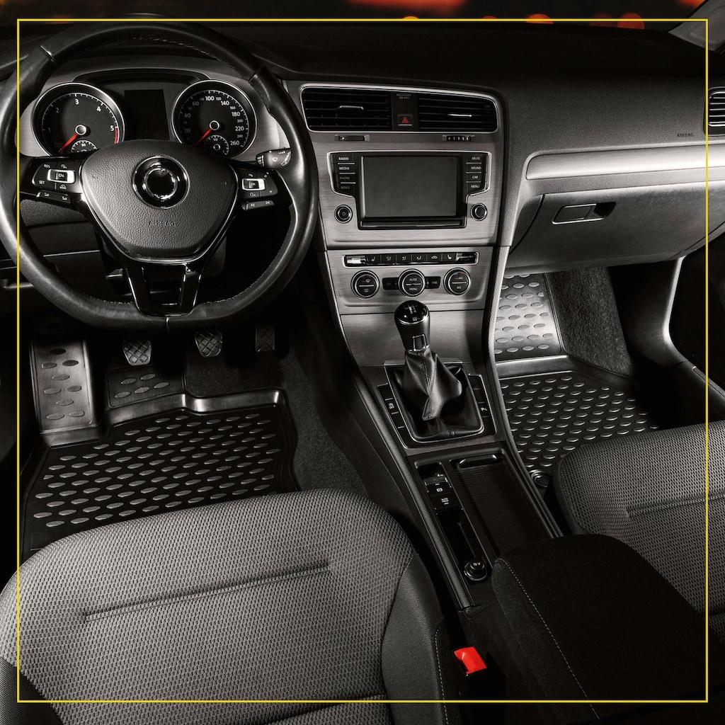 WALSER Passform-Fußmatten »XTR«, (4 St.), für Dacia Sandero II Bj 10/2012 - Facelift 2017