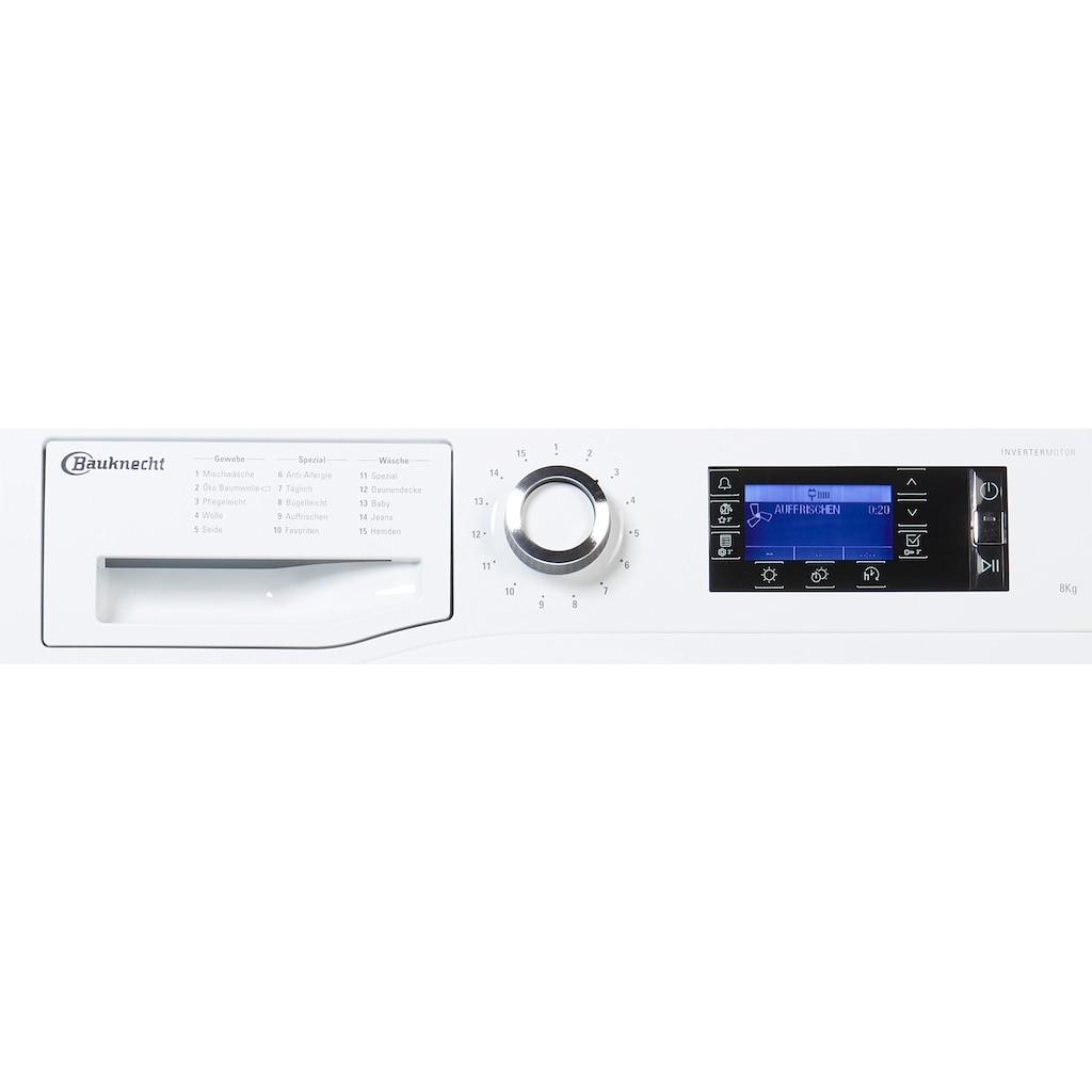 BAUKNECHT Wärmepumpentrockner »T Sense D 8X3E DE«, 8 kg