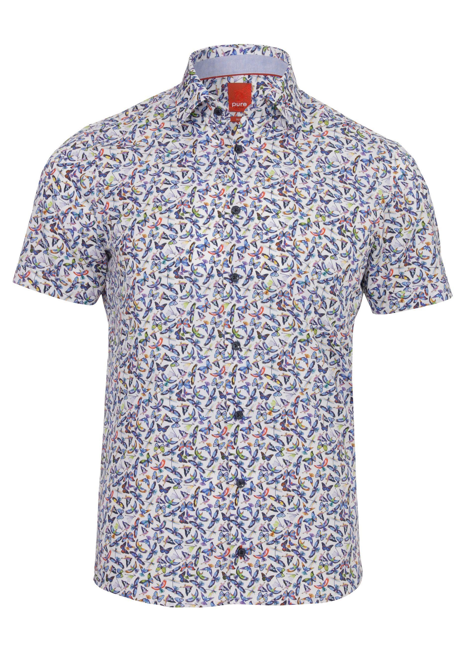 Pure Lässiges Print-Freizeithemd slim fit | Bekleidung > Hemden > Freizeithemden | Pure