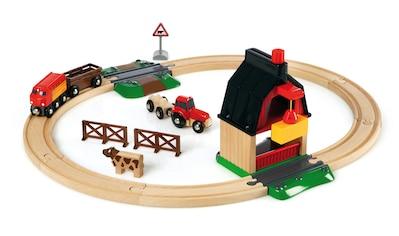 BRIO® Spielzeug-Eisenbahn »BRIO® WORLD Bauernhof Set«, Made in Europe, FSC®-Holz aus... kaufen