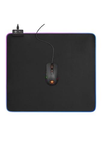 DELTACO Gaming, Mauspad, RGB, USB, Plug - and - Play »XXL Gaming Mauspad RGB« kaufen