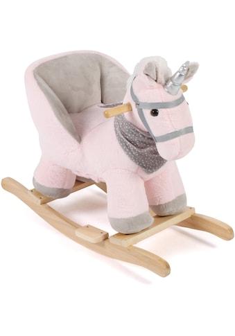 """CHIC2000 Schaukeltier """"Einhorn, pink"""" kaufen"""