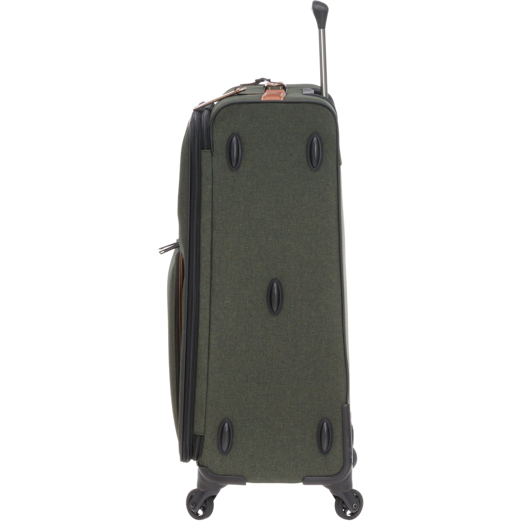 Stratic Weichgepäck-Trolley »Go First - Stop Later, 80 cm«, 4 Rollen, Made in Germany