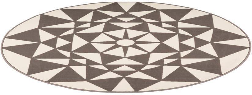Teppich Esperanto 925 Kayoom rund Höhe 10 mm maschinell gewebt