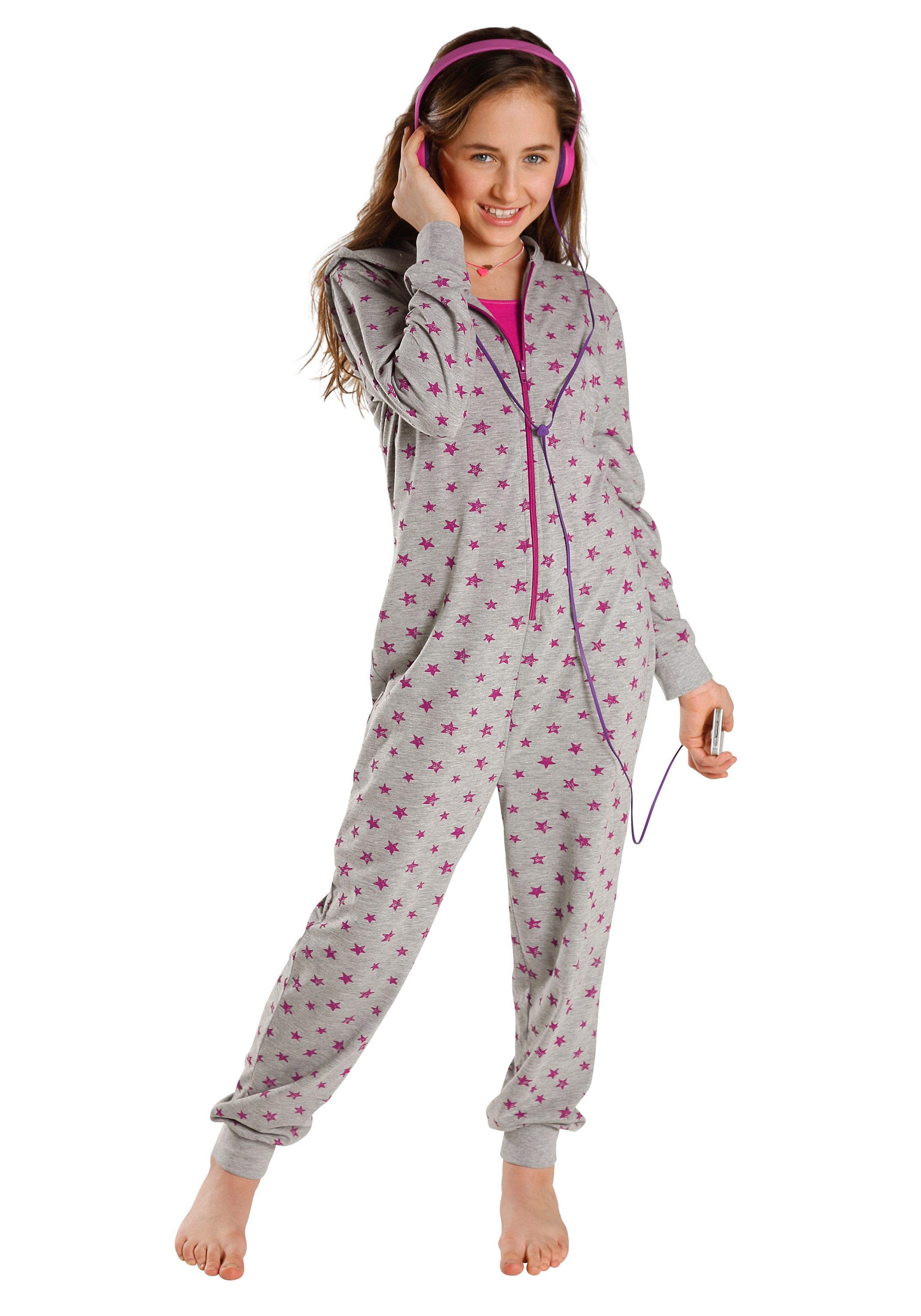 petite fleur Jumpsuit Kindermode/Wäsche & Bademode/Wäsche/Mädchenwäsche/Jumpsuits