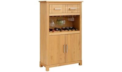 Home affaire Highboard »Elta«, mit Aufbewahrungsmöglichkeit für Flaschen und Gläser kaufen