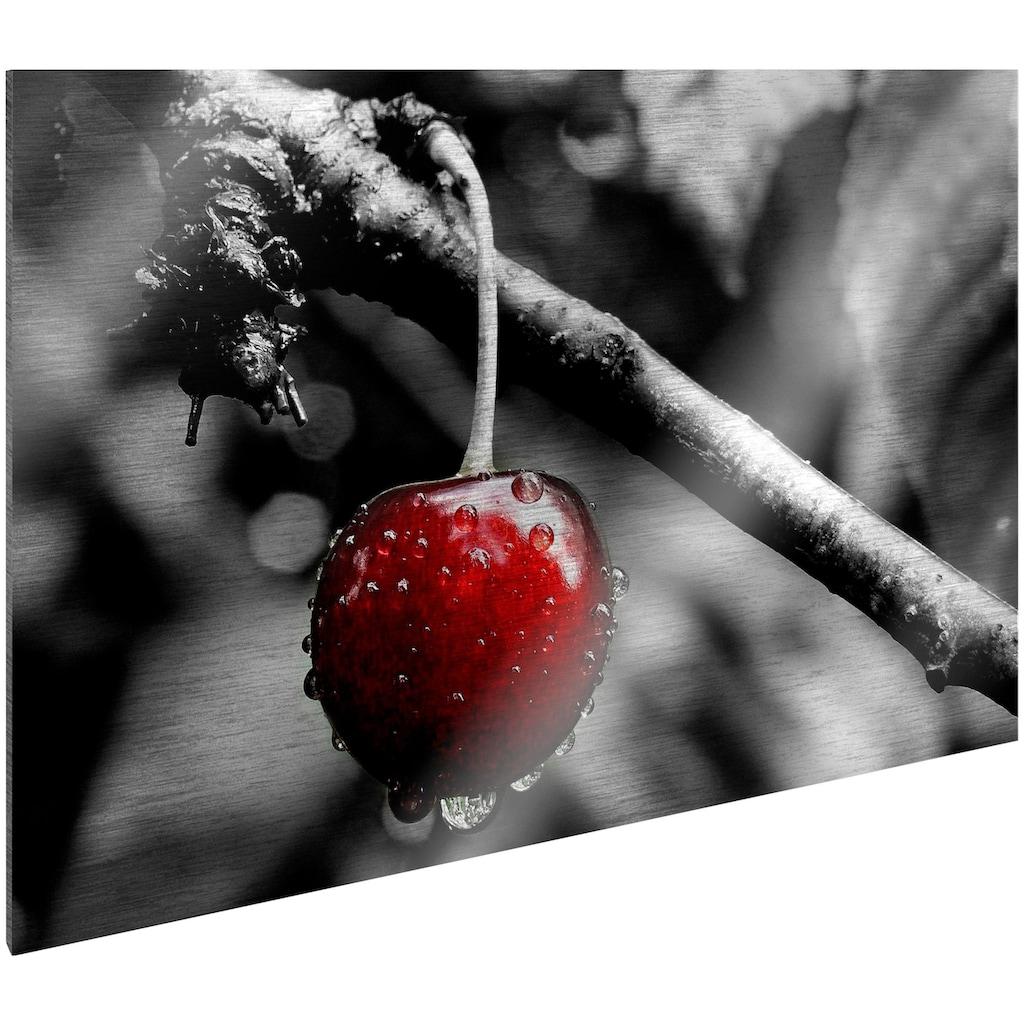 Art & Pleasure Metallbild »Cherry tree«, Foto
