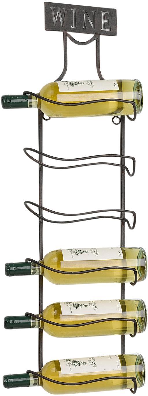 """Home affaire Weinregal """"Weinregal aus Metall für 6 Weinflaschen zum Aufhängen"""" Wohnen/Möbel/Kleinmöbel/Regale/Weinregale"""