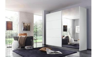 rauch ORANGE Schwebetürenschrank »Quadra«, inkl. Wäscheeinteilung und zusätzlichen Einlegeböden kaufen