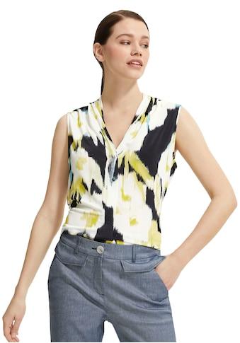Comma Shirttop, mit Alloverprint aus Jersey kaufen