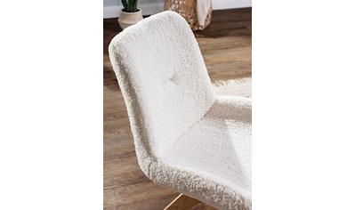 Gutmann Factory Esszimmerstuhl »Wolly«, mit Teddyfell Bezug kaufen