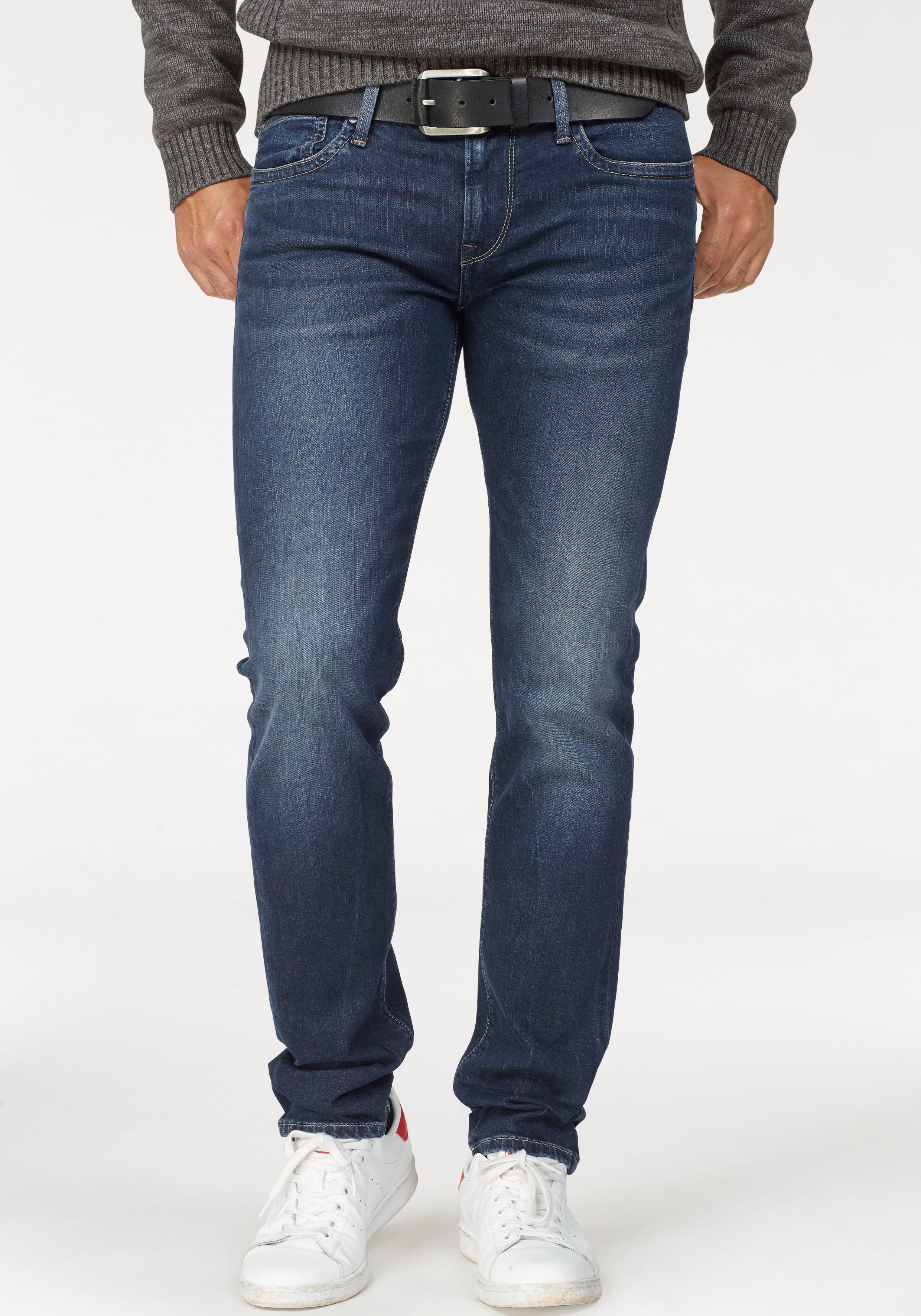 Pepe Jeans Slim-fit-Jeans »HATCH« | Bekleidung > Jeans > Slim Fit Jeans | Blau | PEPE JEANS