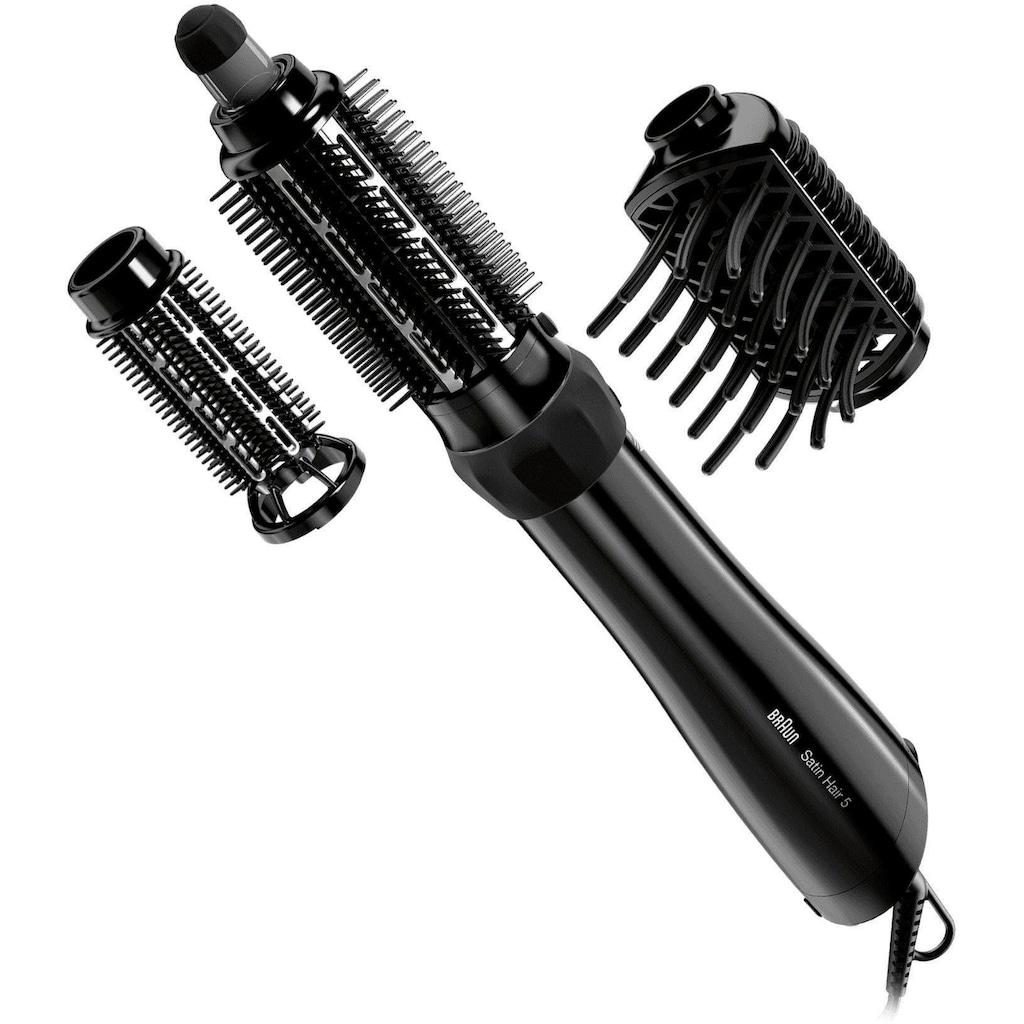 Braun Warmluftbürste »Satin Hair 5 AS 530«, trocknet und stylt Ihr Haar in einem Schritt