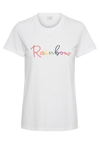 KAFFE T - Shirt »KArainbow« kaufen