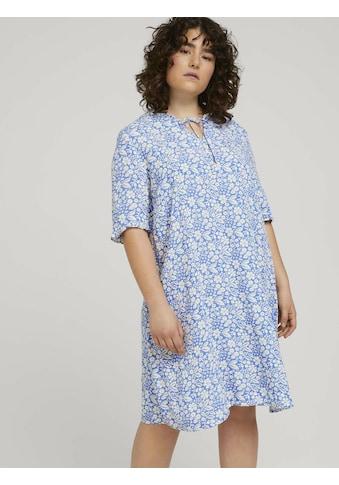 TOM TAILOR MY TRUE ME Sommerkleid »Curvy - Rüschen Kleid mit LENZING(TM) ECOVERO(TM) im« kaufen