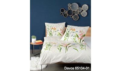 Janine Bettwäsche »DAVOS 65104«, mit Reißverschluss kaufen
