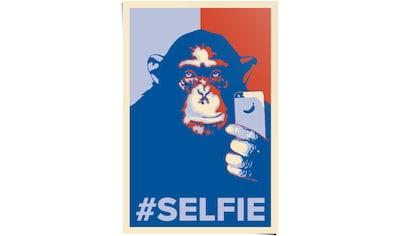 Reinders! Poster »Selfie Affe«, (1 St.) kaufen