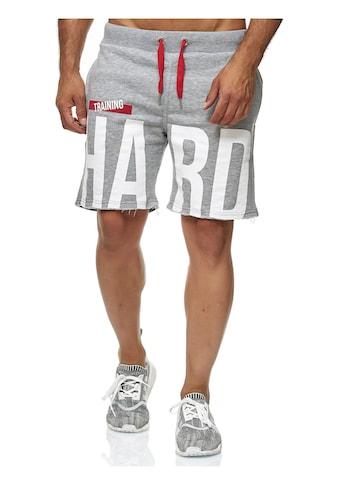 RedBridge Shorts »Honolulu«, coolem Trainings-Print kaufen