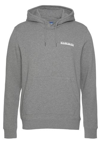 Napapijri Kapuzensweatshirt, mit Logobrustprint kaufen