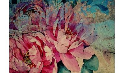 Consalnet Papiertapete »Bunte Vintage Blumen«, floral kaufen