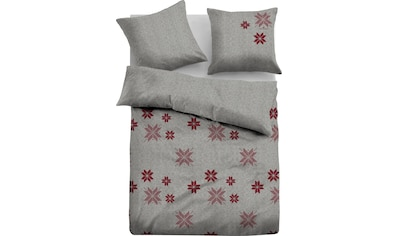 TOM TAILOR Wendebettwäsche »Silas«, mit winterlichen Schneeflocken kaufen