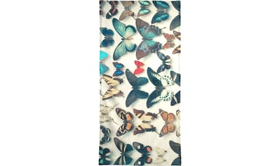 Juniqe Handtuch »Wings«, (1 St.), Weiche Frottee-Veloursqualität kaufen