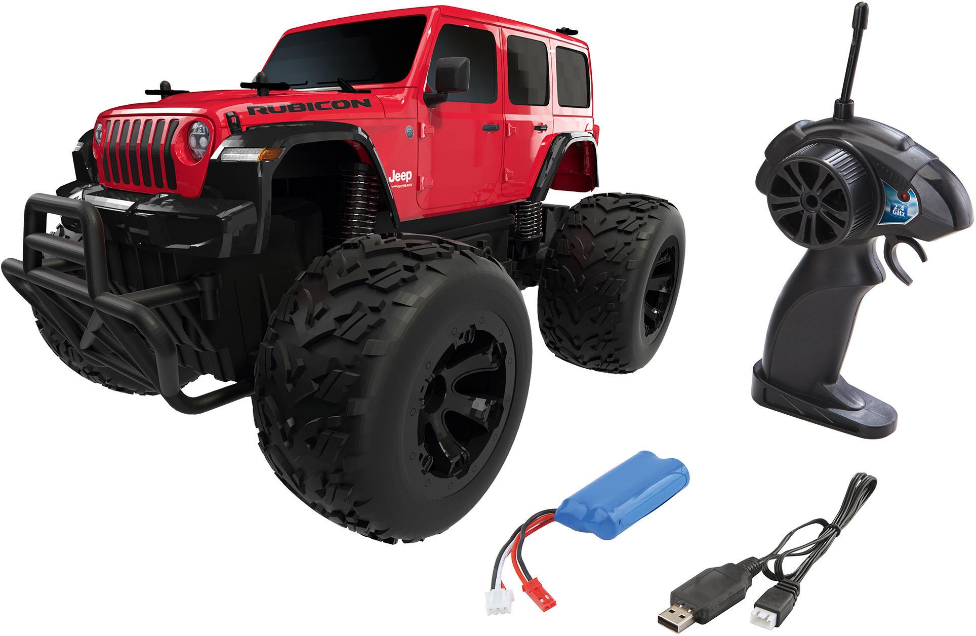 Revell RC-Auto Jeep Wrangler Rubicon rot Kinder RC Auto Autos, Eisenbahn Modellbau