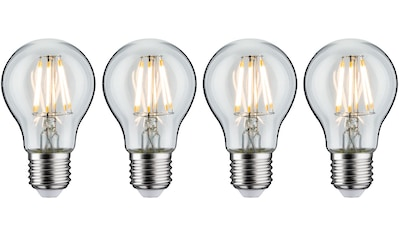 Paulmann »4er Pack 7W E27 klar 2700K« LED - Filament, E27, Warmweiß kaufen