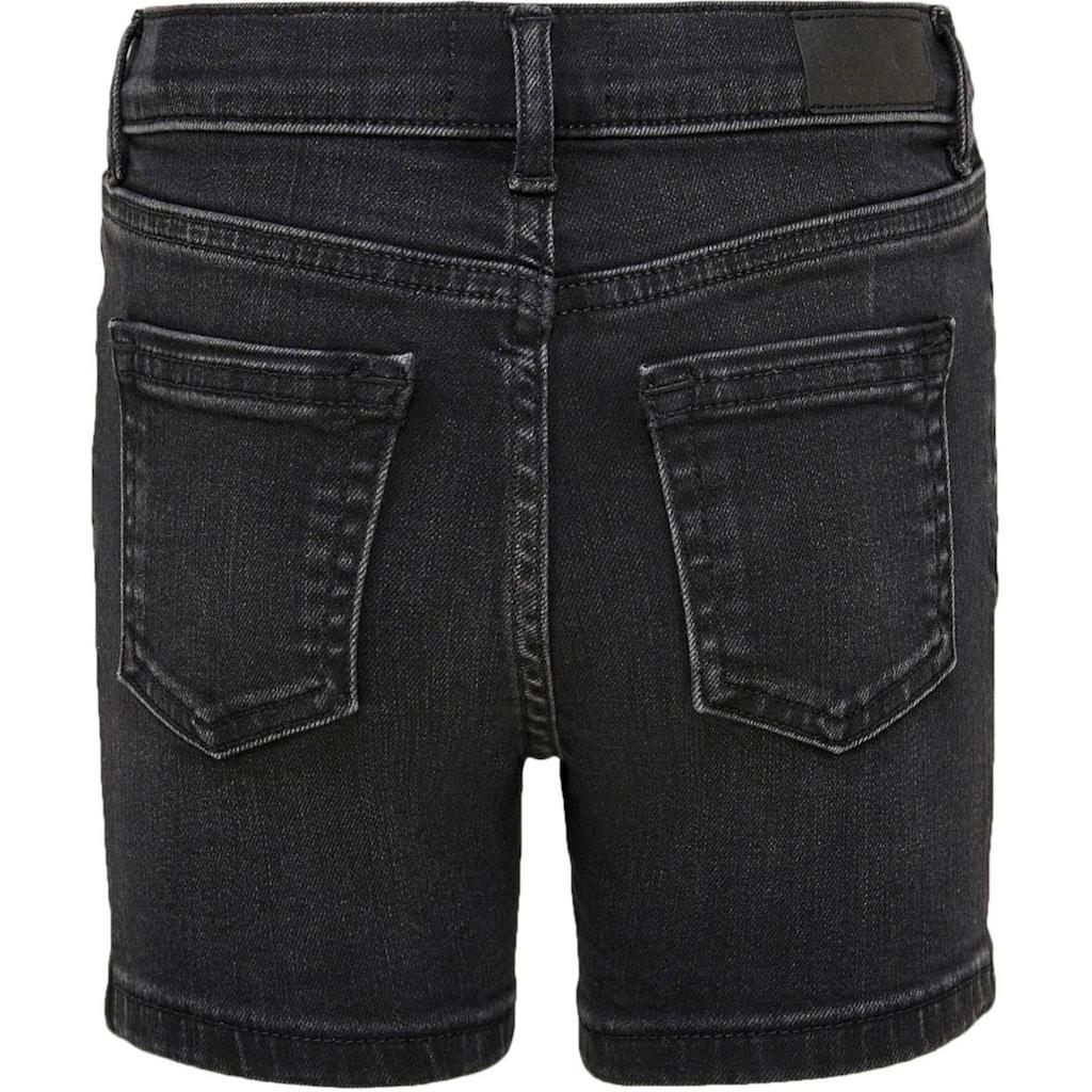 KIDS ONLY Jeansshorts »KONBLUSH«, mit verstellbarem Taillengummi