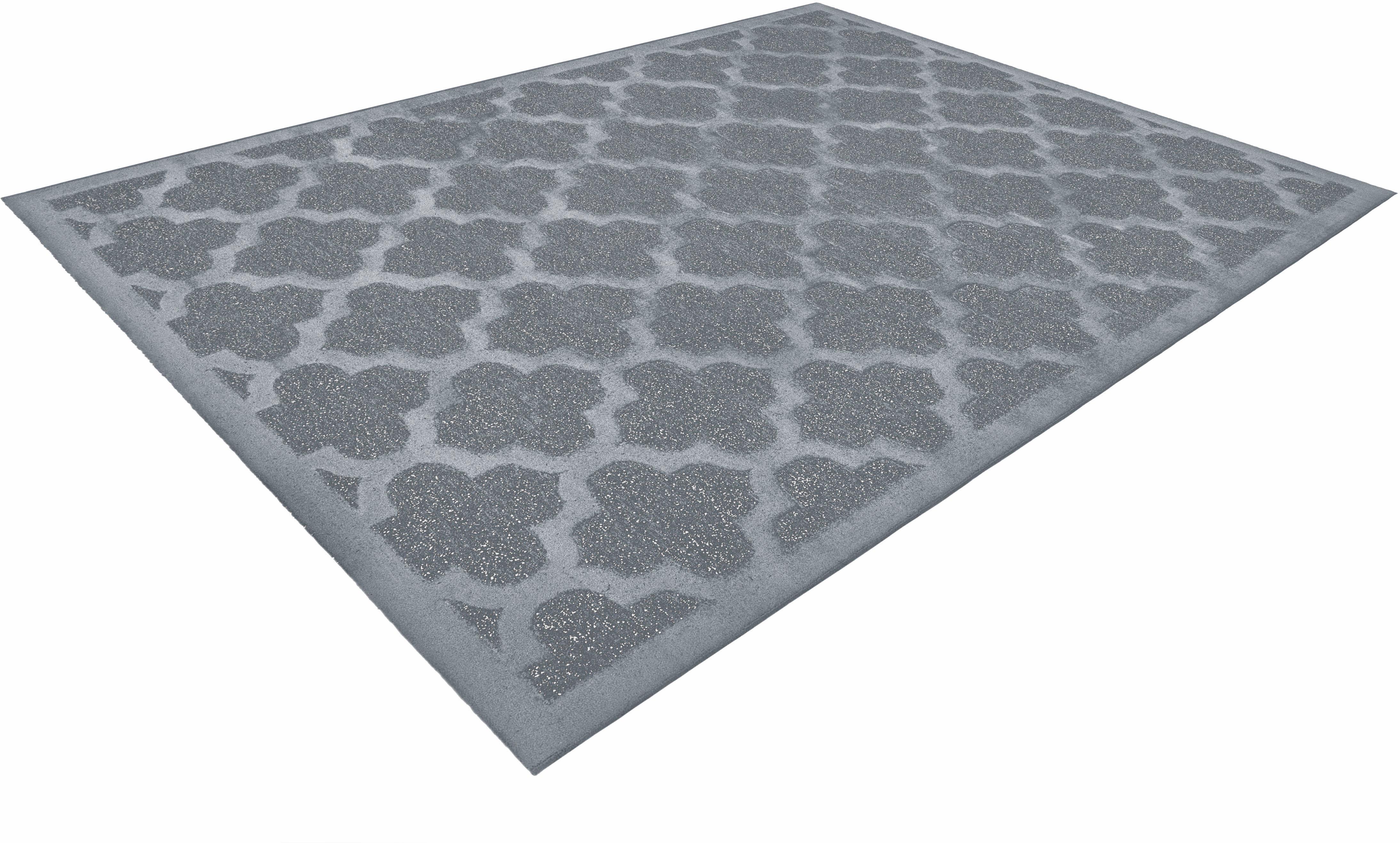 Teppich Jemila 544 LALEE rechteckig Höhe 10 mm maschinell gewebt