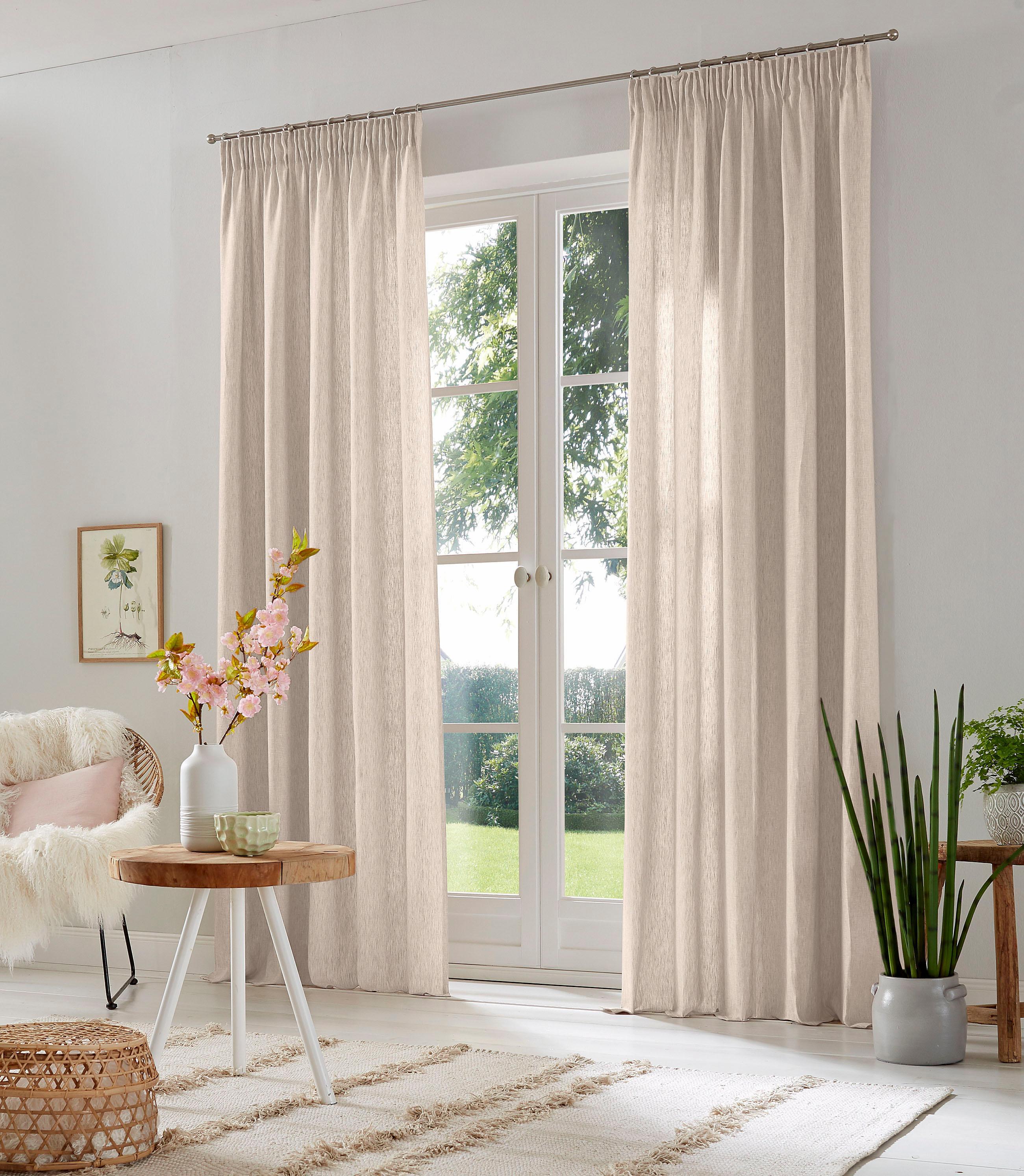 Vorhang, Lazy, Home affaire, Multifunktionsband 2 Stück | Heimtextilien > Gardinen und Vorhänge | home affaire