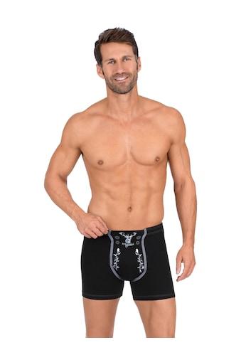 Trigema Boxershorts, mit Hirsch kaufen