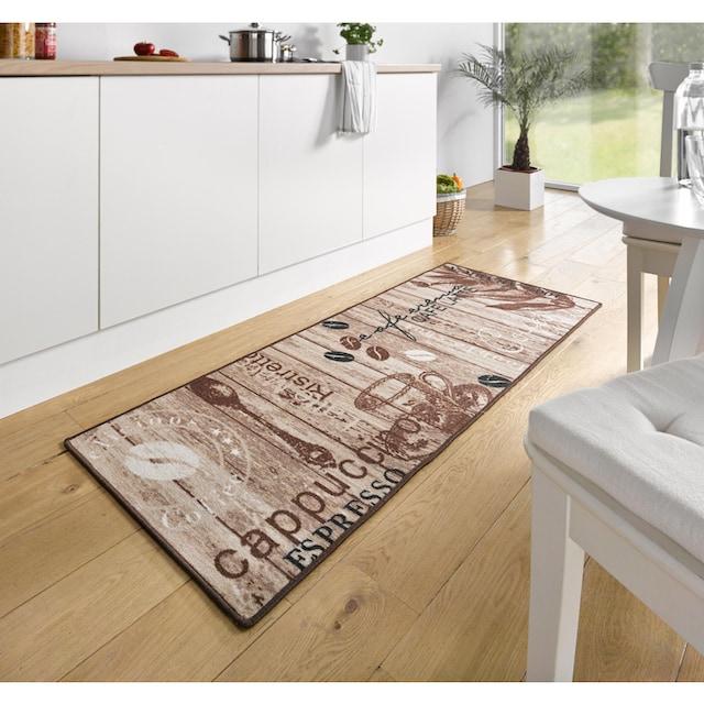 Küchenläufer, »Delicious Coffee«, HANSE Home, rechteckig, Höhe 8 mm, maschinell getuftet