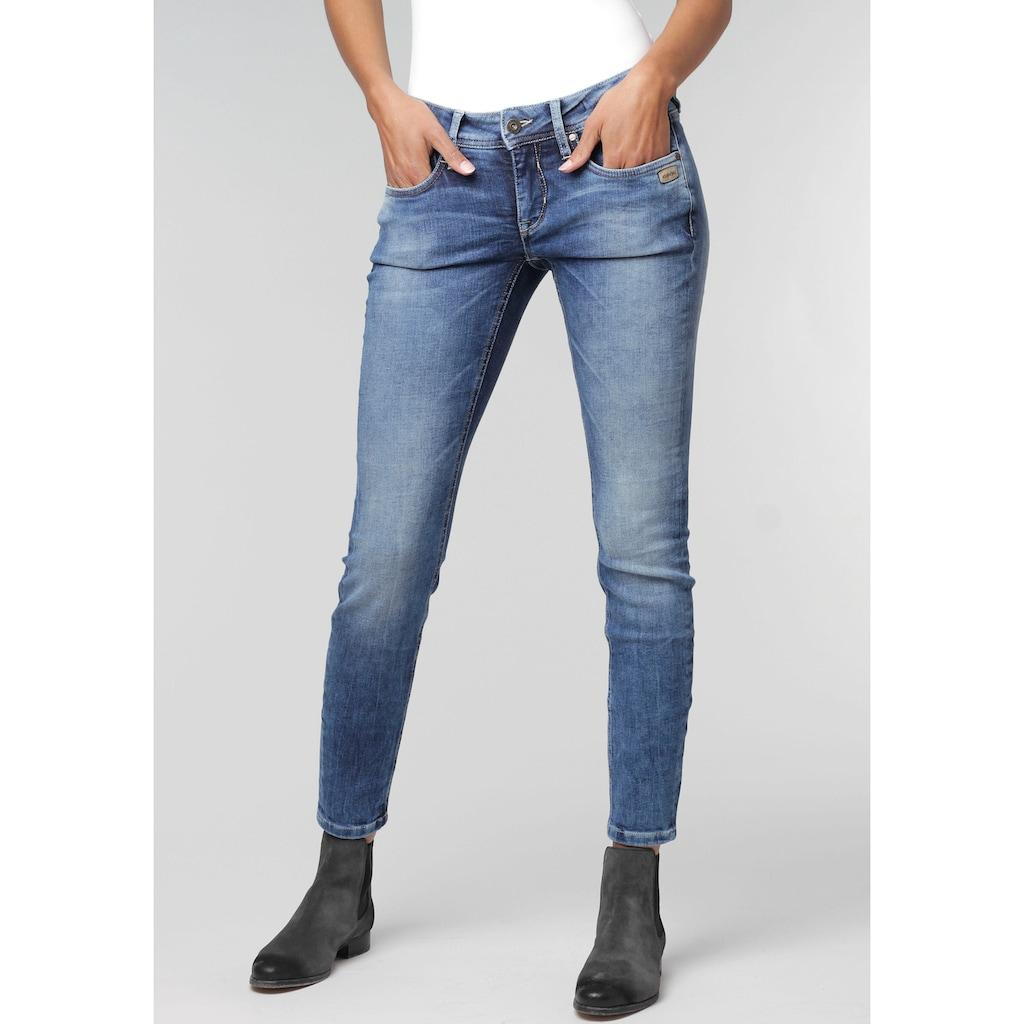 GANG Skinny-fit-Jeans »Faye«, im Used-Look