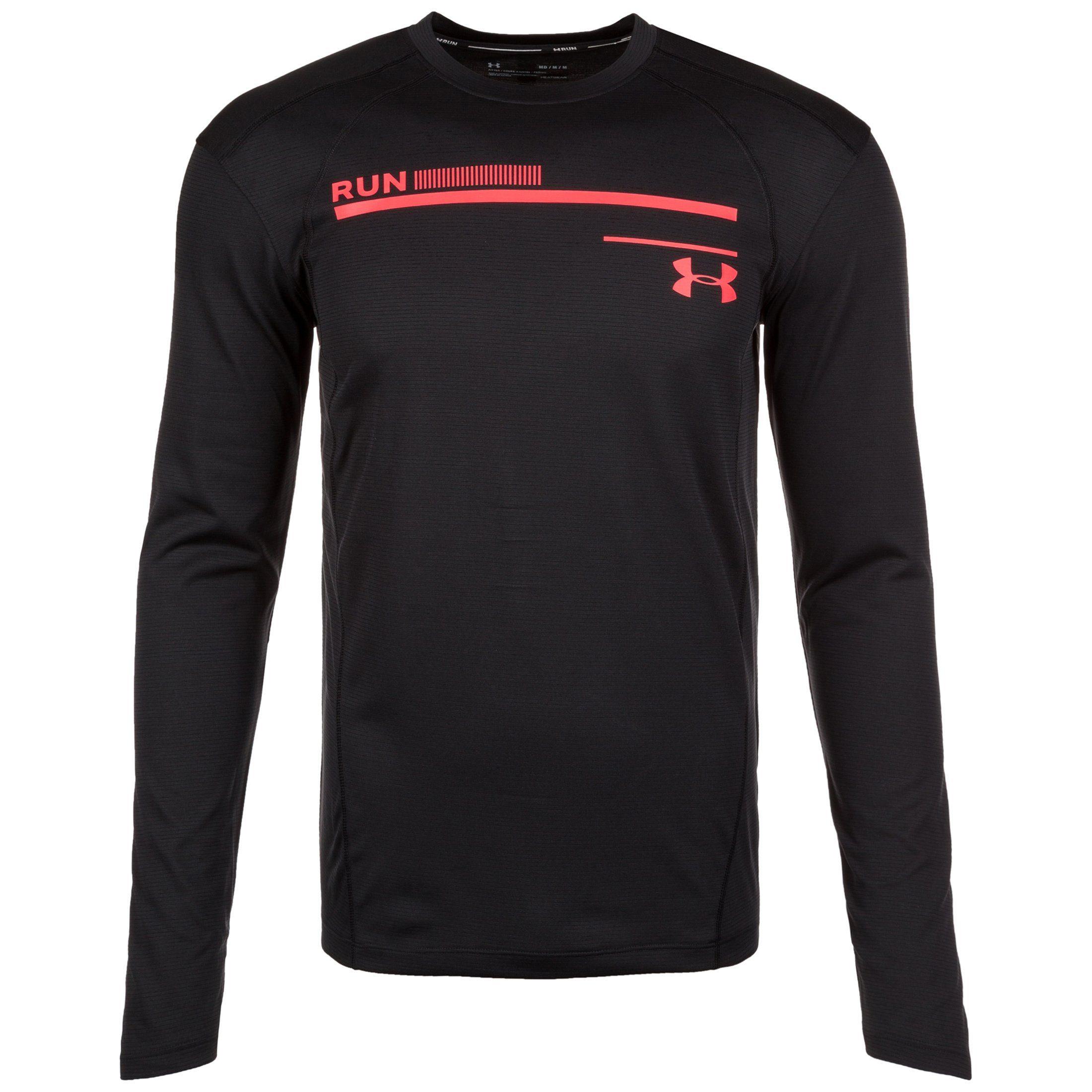 Under Armour® Laufshirt »Coldgear Simple Run« | Sportbekleidung > Sportshirts > Laufshirts | Schwarz | UNDER ARMOUR®