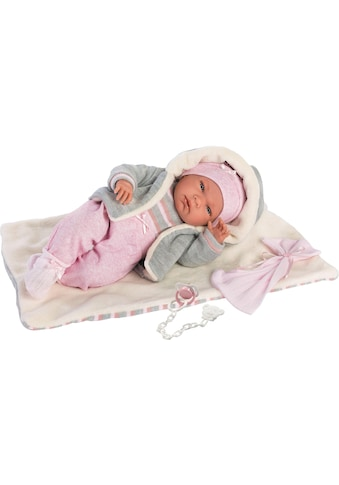 Babypuppe »Llorens, Nica, 40 cm«, (Set, 4 tlg.), Made in Europe kaufen