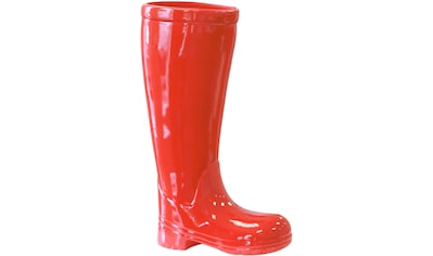 GILDE Schirmständer »Regenschirmständer Stiefel, rot«, für Regenschirme, Höhe 45 cm,... kaufen