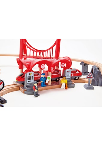 """Hape Spielzeugeisenbahn - Gebäude """"Eisenbahn - Set  -  Verkehrsreiche Stadt"""" kaufen"""