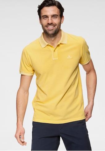 Gant Poloshirt »D2. SUNFADED PIQUE RUGGER« kaufen
