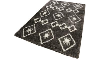 Hochflor - Teppich, »Ayachi«, Wecon home, rechteckig, Höhe 50 mm, maschinell gewebt kaufen