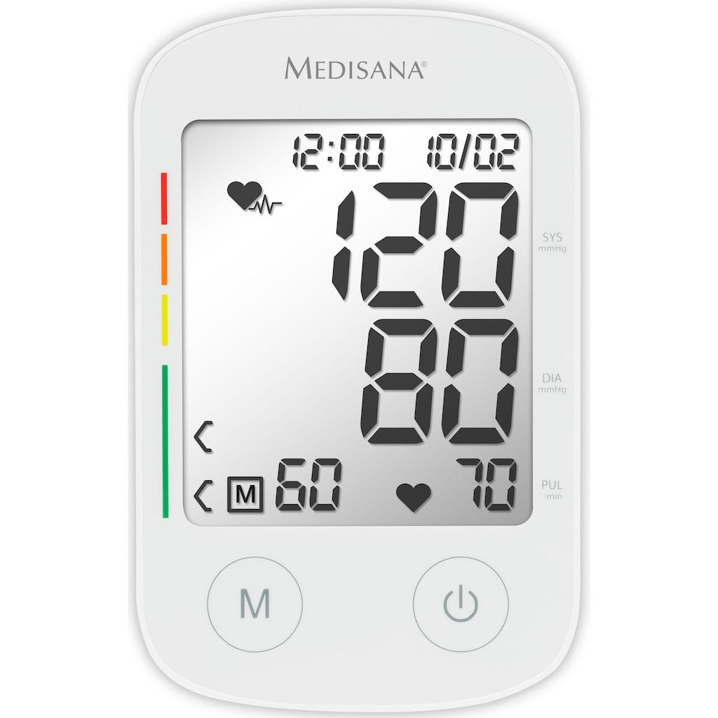 Medisana Oberarm-Blutdruckmessgerät »BU 535 Voice«, Sprachausgabe in Landessprache wählbar