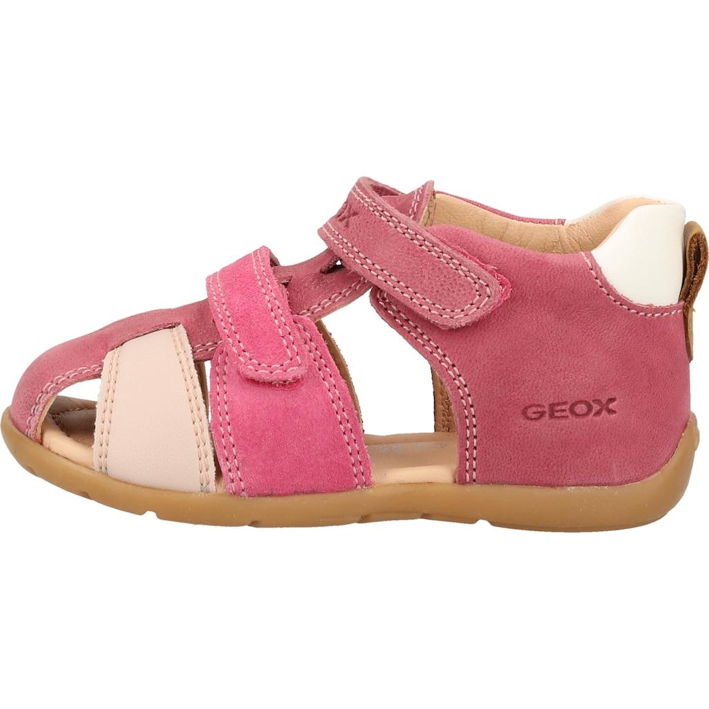 Geox Sandale »Leder/Synthetik«