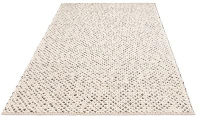 My HOME Teppich »Zarina«, rechteckig, 6 mm Höhe, Stickoptik, Wohnzimmer kaufen