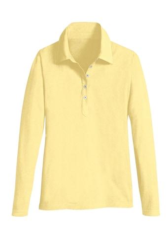 Casual Looks Langarm-Poloshirt kaufen